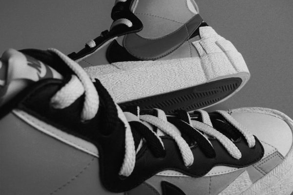 Gray picture of Nike shoes