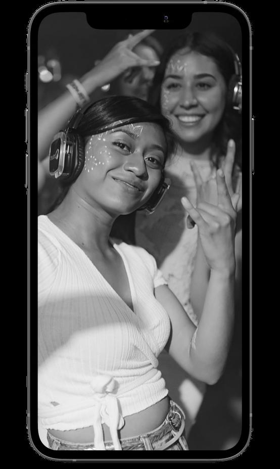 Gray mobile smartmockup image